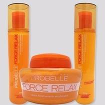 Force Relax Probelle Kit Cabelos Secos - Crespos - Sensíveis