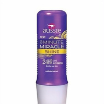 Máscara Aussie 3 Minute Miracle Shine 236ml 100% Original