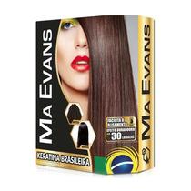 Kit Ma Evans Shampoo Limpeza Profunda +loção Keratina Brasil