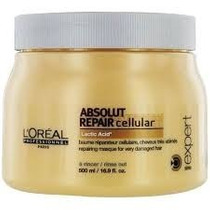 Máscara Loreal Absolut Repair Cellular 500g