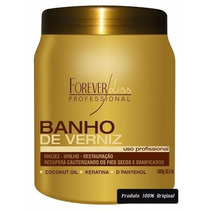 Banho De Verniz Creme Hidratante Máscara 1 Kg * Forever Liss