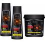 Kit Bomba Capilar 1 Shampoo 1 Condicionador 1 Mascara