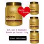Kit 4 Unidades - Banho De Verniz 1 Kg Forever Liss + Brinde