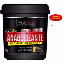 Anabolizante Capilar Foreverliss 1kg + Brinde