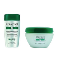 Kit Kerastase Force Architecte Shampoo 250 Ml + Máscara 200g