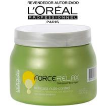 Mascara Profissional P/cabelo Loréal Force Relax 500g Creme