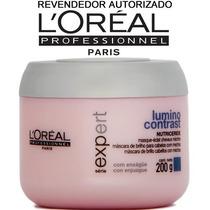 Máscara Loréal Lumino Contrast 200g Para Cabelos Com Mechas