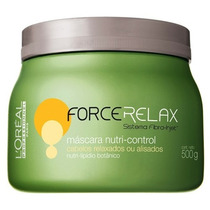 Loreal Profissional Force Relax Nutri Control Máscara 500gr