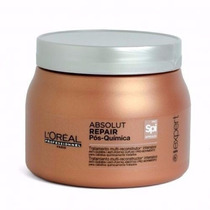 Máscara 500g Loréal Absolut Repair Pós Quimica