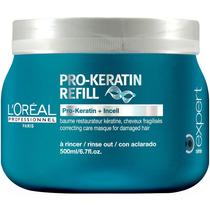 Loréal Pro-keratin Refill Máscara De Queratina 500ml Lor