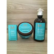 Moroccanoil Kit Mascara Hid. + Creme De Pentear + Oleo 25ml