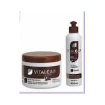Creme Pentear + Mascara Vitalcap Mandioca