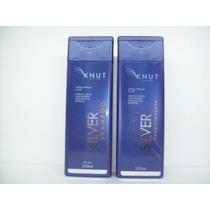 Kit Silver Matizador Shampoo + Condicionador 250ml Knut