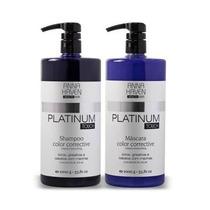 Anna Haven Platinum Touch Shampoo E Máscara Matizadora
