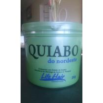 Máscara Reconstrutora Quiabo Do Nordeste Life Hair 2 Kg