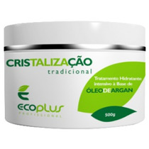 Mascara Cristalização Óleo De Argan Ecoplus 500ml