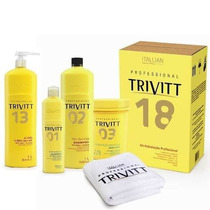 Trivitt Profissional + Cauterização Gloss Hidra Cauter