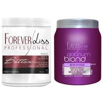 Forever Liss Kit Duos Btx Blonde E Argan Oil