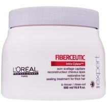 Loréal Fiberceutic Botox Capilar Máscara 500 Ml Cab.grossos