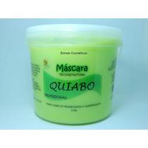 Mascara De Reconstrução Capilar De Quiabo 2,5 Kg
