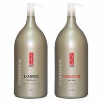 Red Iron Shampoo + Hidratante Goji Berry 2,5lt Produto Otimo