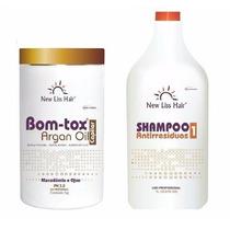 Argan Bott-ox + Shampoo Antirresíduos New Liss Hair 1kg