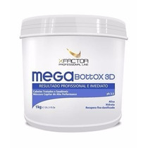 Botox Capilar X Factor 1kg , S/ Formol , Alisa E Hidrata