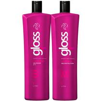 Fox Gloss Escova Progressiva 2x1000ml + Brinde Especial