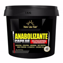 Anabolizante Bomba Capilar New Liss Hair Cresce Cabelos 1kg