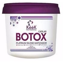 Keek Botox Capilar Matizador Platinum Blond 1kg O Melhor