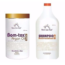 Botox Argan Oil S/formol+ Shampoo Antiresiduos New Liss Hair