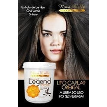 Mascara Capilar Legend Oriental Nova Delle Extrato De Bambu