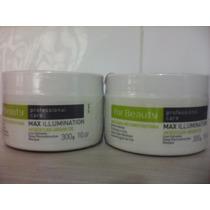 Mascara De Argan Max Illumination For Beauty Reconstrução 2u