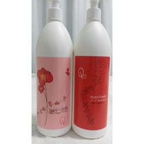 Shampoo + Máscara Nutri Shine Q*8 1 Litro