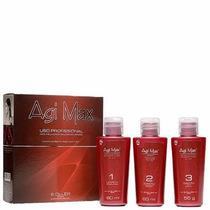 Agimax Dna System Kit Escova Inteligente 3x60ml-dose Única