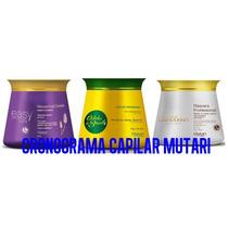 Tratamento Cronograma Mutari-3 Mascaras Hidrat. Nutr. Recon
