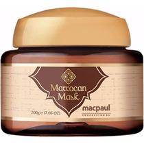 Máscara Marrocan De Óleo De Argan - Mac Paul