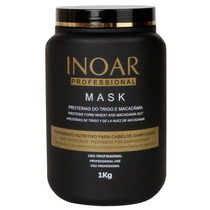 Inoar Tratamento Capilar Máscara Macadamia 1kg