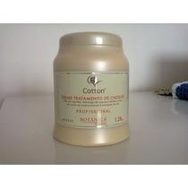 Creme De Tratamento De Choque Cotton Botanica Cacau 1,2kg