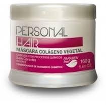 Máscara Colágeno Vegetal Personal Hair Tânagra Fase 2 160g