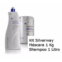 Shampoo(1000ml) E Máscara(1000gr) Extreme® Silverway