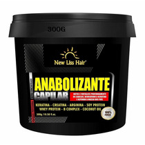 Reconstrutor Anabolizante Capilar Ultra 300g New Liss Hair
