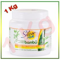 Silicon Mix Bambu 1kg Mascara Tratamento Hidratação Volume