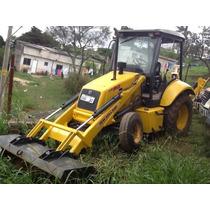 Retro Escavadeira 2008 Emplacada Pá Carregadeira Est. Propos