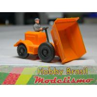 Trator Basculante Para Construção Ho 1:87 Wiking Miniatura