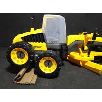 Patrola Trator Motoniveladora Comp=48cm Larg=23cm Alt=23cm