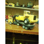 Miniaturas De Carreta Com Rolo Compactador