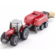 Trator Massey Ferguson 8690 1/50 Siku Miniatura Alemã Metal
