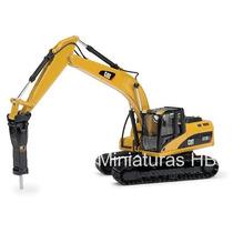 Miniatura Escavadeira Hidraulica 323dl Com Perfurador 1:50