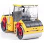 Trator Compactador Asfalto Rolo 1/35 Kdw Kaidiwei Metal Novo